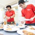 HKRI Care & Share Volunteers collect food and prepare low-carbon meal for singleton elders